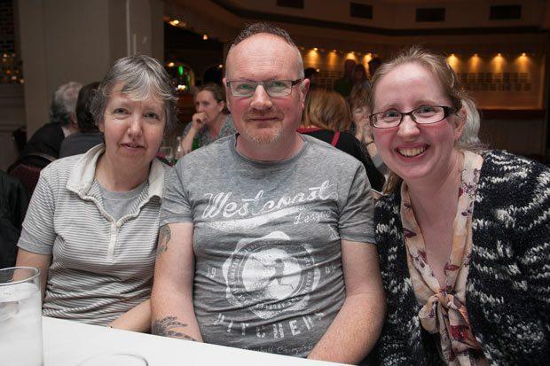 Anne Byrne, TJ Myron and Linda Byrne