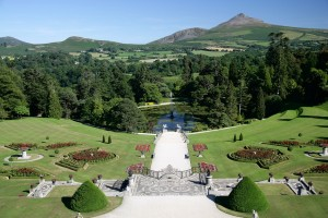 A lovely view of the gardens