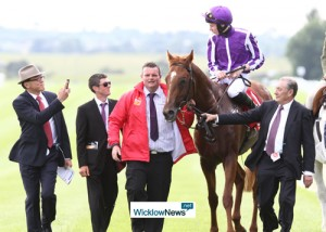 Joseph O'Brien after Saturday's race