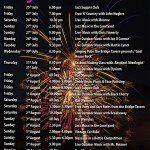 Bridge Tavern Regatta Event List