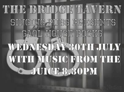 Bridge Tavern jail house rock