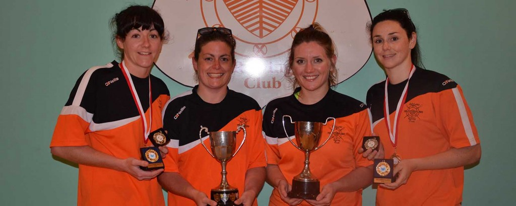 Sandra Dunbar, Lora Kavanagh, Emma FitzGerald & Amy Snell. Missing from photo is Cox Peter Doyle