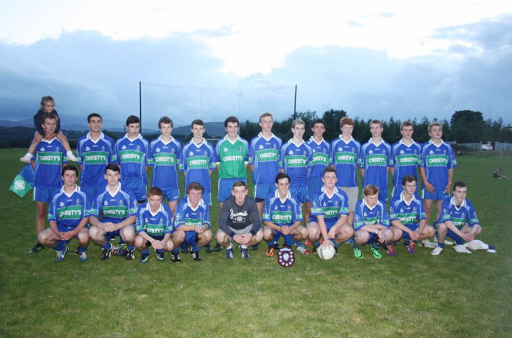 14 08 13 AGB U16 Boys League Winners