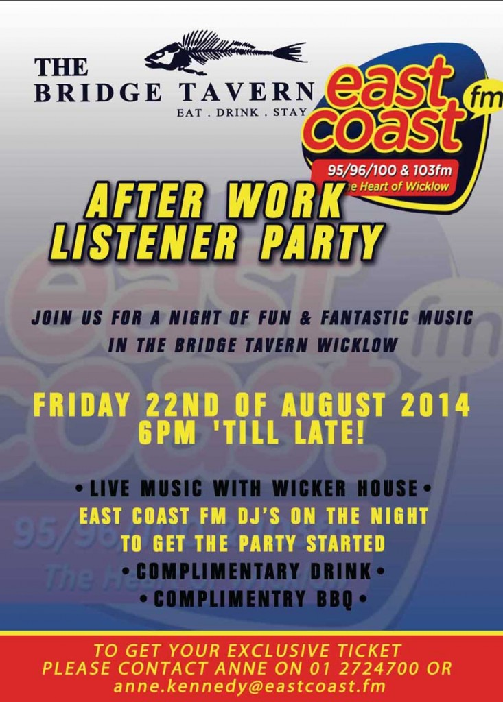 East Coast FM afterworK Party