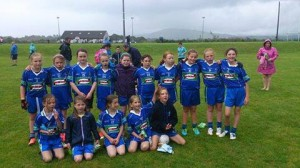 AGB U10, U9 girl's team who played in Blitz.