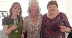 Anne and Mags Lynott, Dunlavin with Philomena Lynott mother of rock Star Phil
