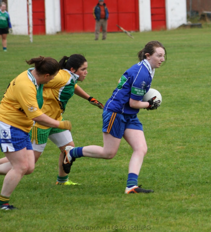 Kayleigh Earls in Action for AGB. (pic: Mary Geraghty)