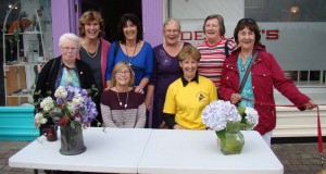 From Greystones, Mary Fitzpatrick,  Kathleen Kelleher,  Eileen Horan, Audrey Pritchard,  Olive Harte,  Carole Kinsella, Marnie Cromien and Penny Hall.