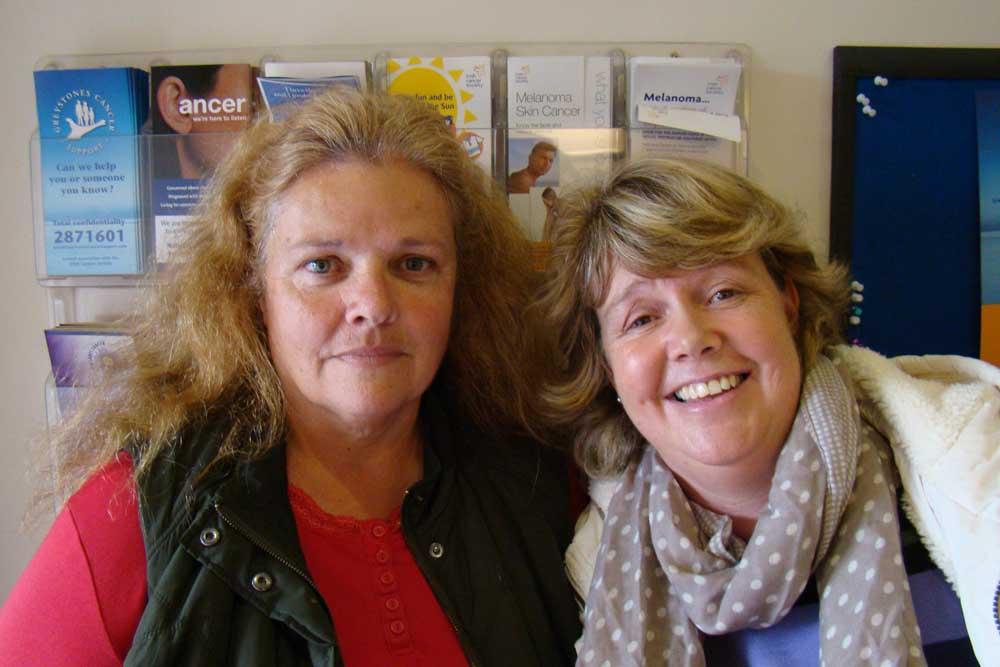Helen Elliot and Reinielde Verbruggen. From Kilcoole