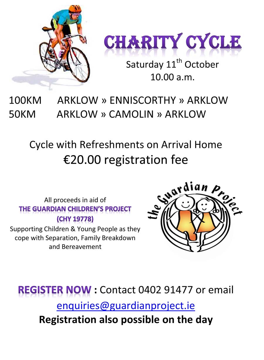 Guardian project charity cycle