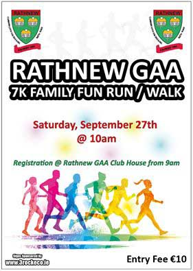 Rathnew GAA Club Fun Run