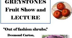 Greystones fruit show and lecture