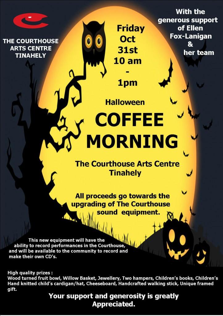 Halloween Coffee Morning.
