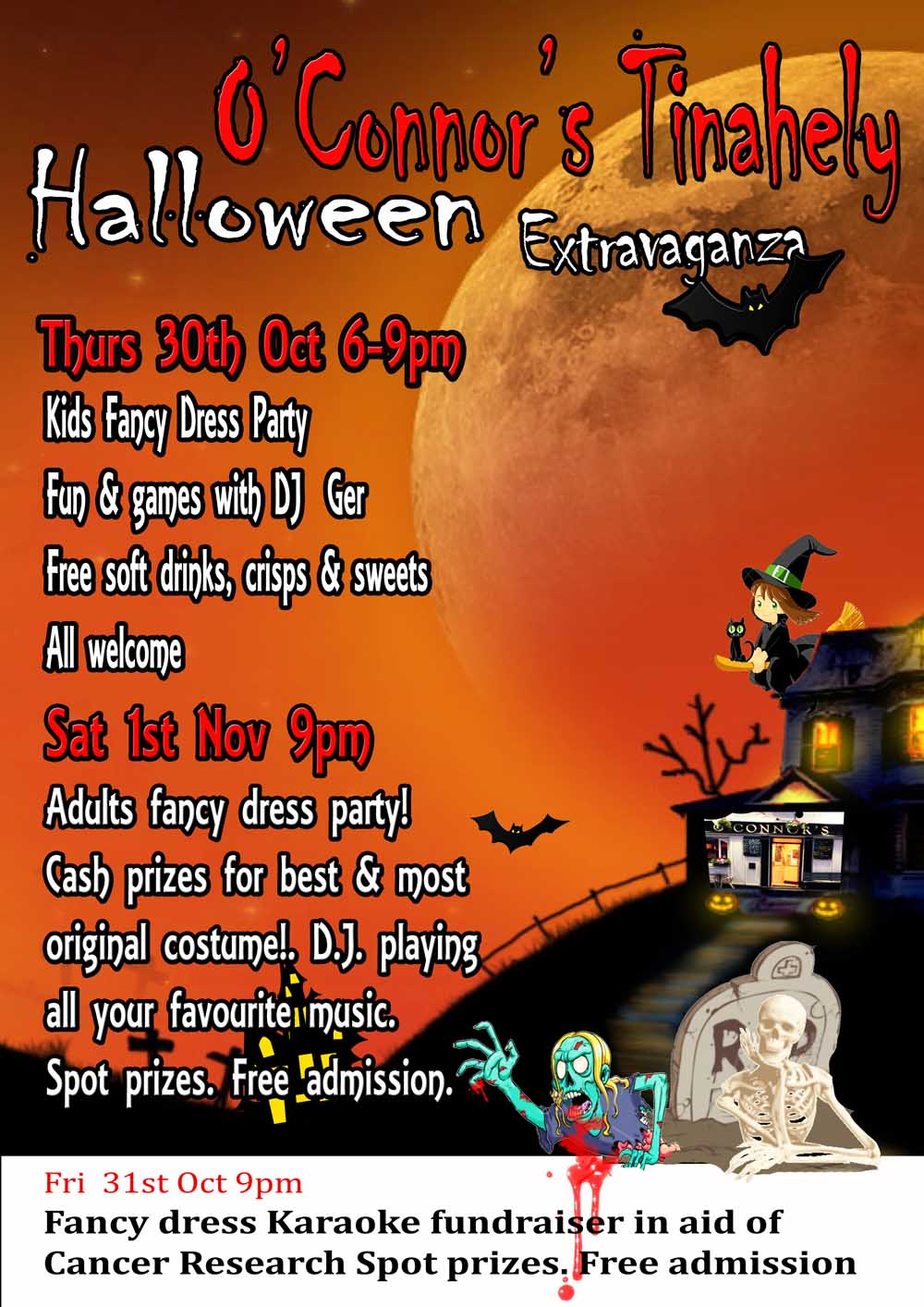 Halloween Poster tinahely