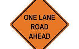 road one lane