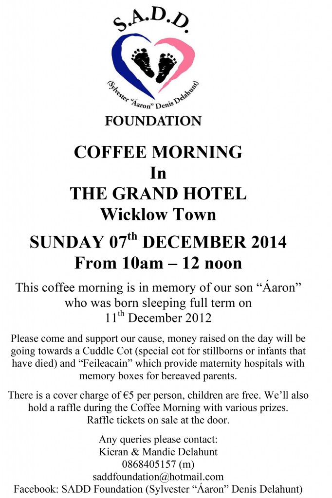 SADD Coffee Morning poster 2014 A4 New-1