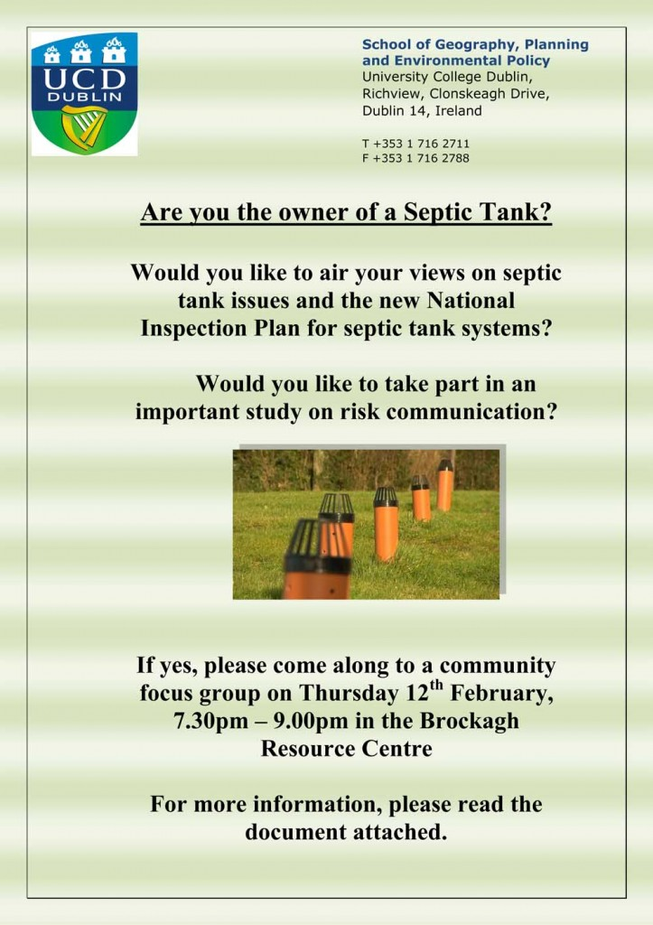 Septic Tank Research Poster