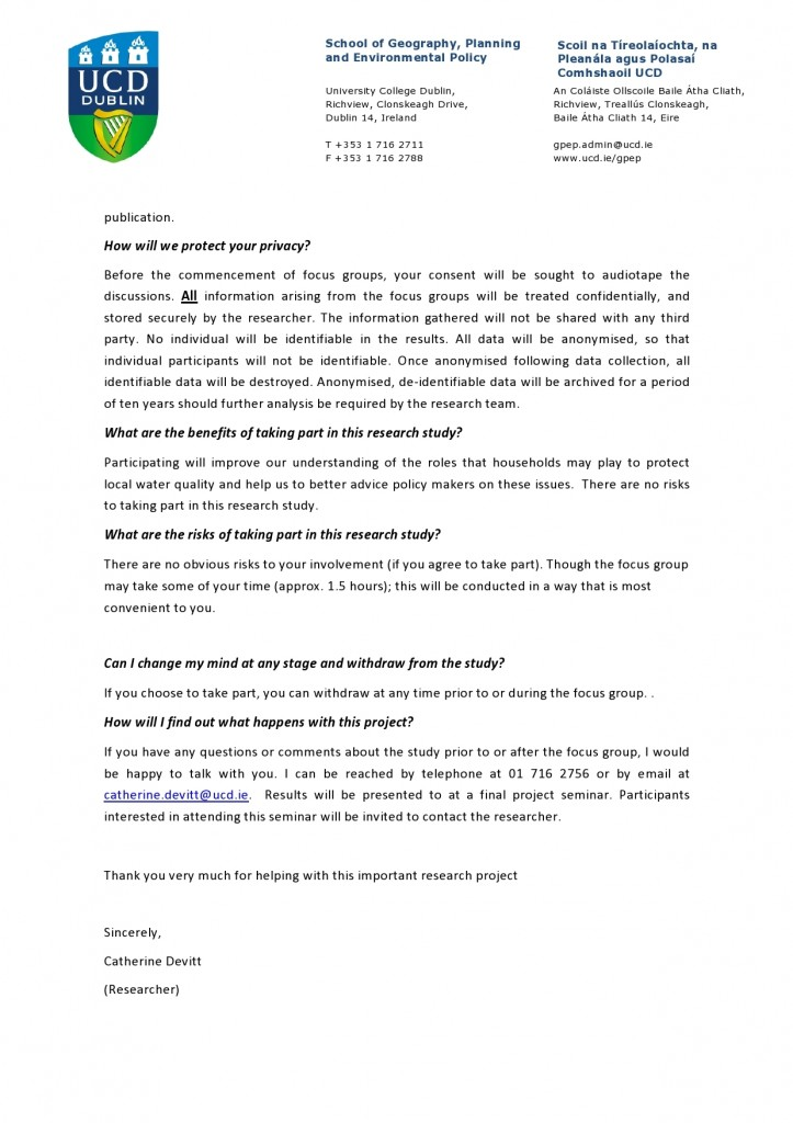 information letter page 2