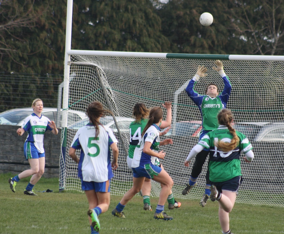 Linda Dempsey called on to demonstrate her skill against Bray