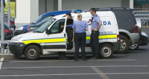 Forensics and Gardai at the scene in Arklow last Thursday