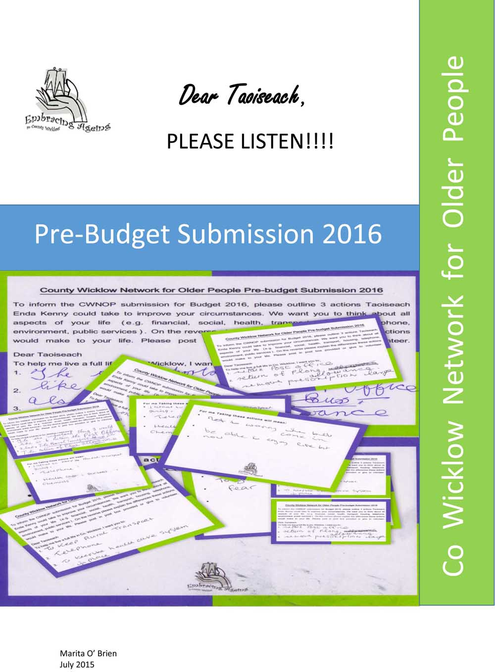 Pre-Budget Submission