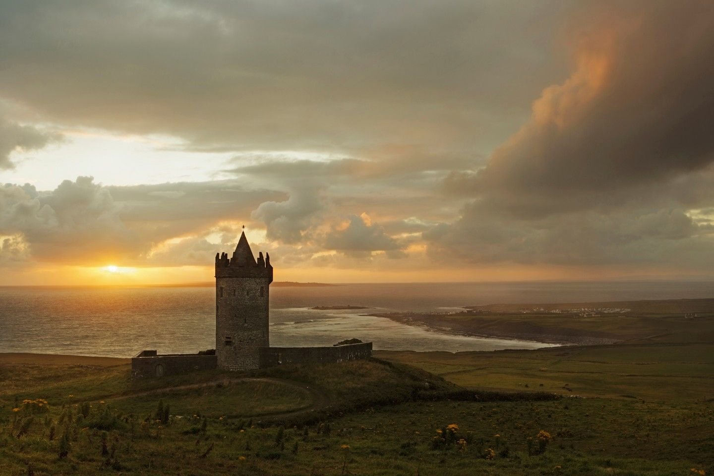 Doonagore Castle by Brendan Cullen: third placed image in the Heritage category