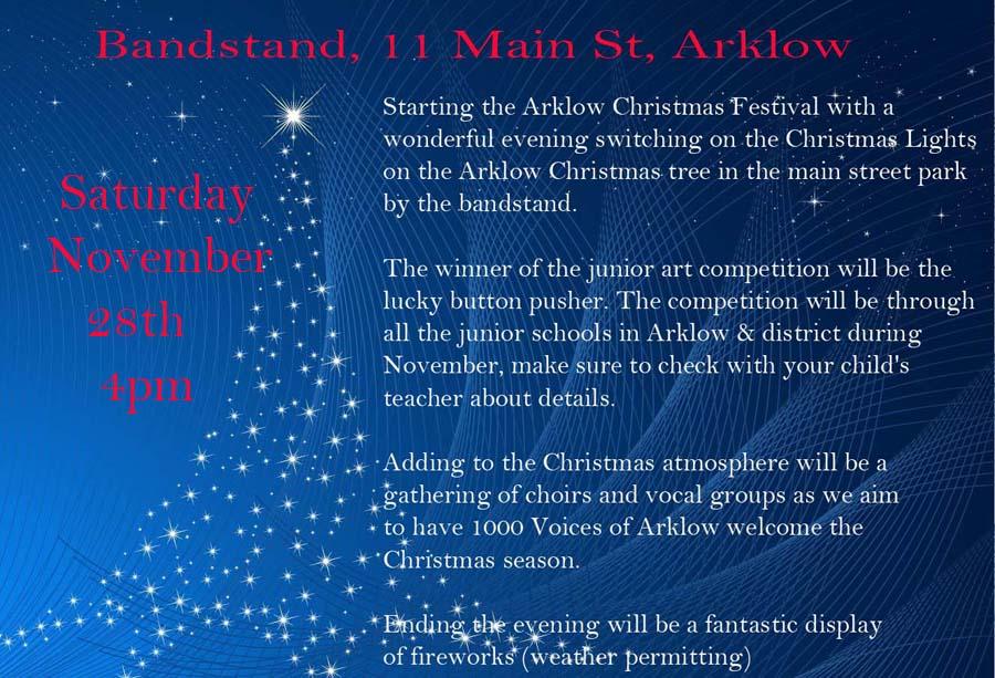 Arklow Lights - Sat Nov 28th - 4pm