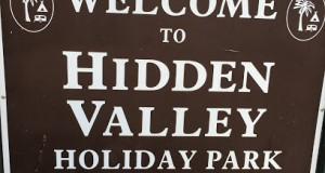The jeep was stolen from the Hidden Valley Holiday Park last night (pic: Google Maps)