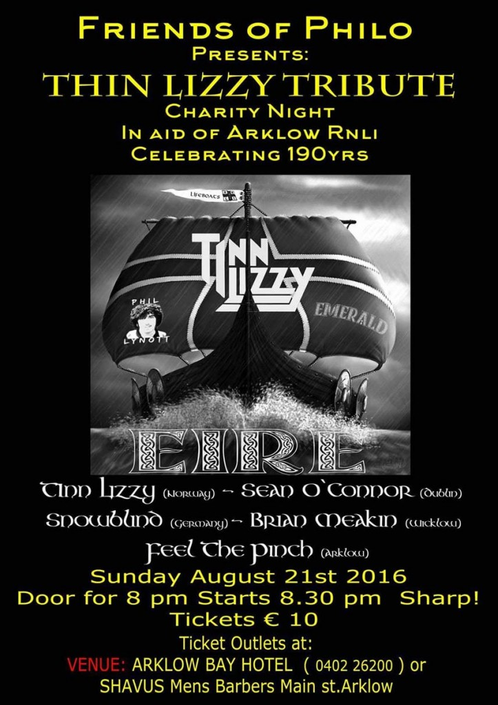 Thin Lizzy Rock Tribute Night @ The Arklow Bay Hotel