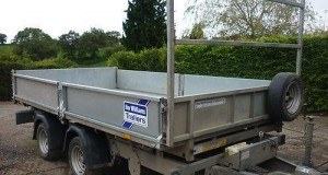 An ifor Williams trailer, similar to the one that was stolen